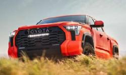 BingMag.com Toyota Tundra 2022's latest preview shows off its power and attractive color scheme