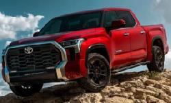BingMag.com Toyota Tundra 2022 was unveiled with an angry and powerful look
